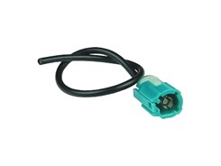 Antenneadapter Fakra (Hun) > Løs kabel, 15 cm