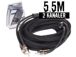 Stage3 Signalkabel 5.5 mtr, 2-kanals