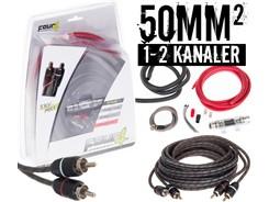 50mm² kabelsæt m. 1 stk signalkabel