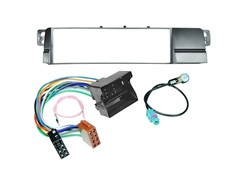 1DIN Radiokit BMW (3 E46), MOST/Quadlock, sort