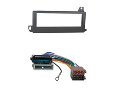 1DIN Radiokit CHRYSLER/JEEP, sort
