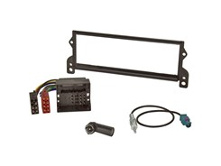 1DIN Radiokit BMW (Mini), MOST/Quadlock, sort