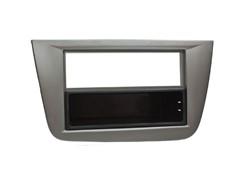 1DIN Radioramme SEAT (Altea,Toledo), grå-metallic