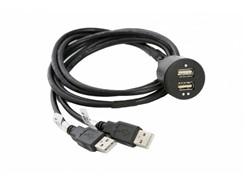 USB-adapter m. 2 stk USB-stik