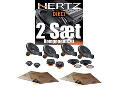 2 sæt Hertz højttalere - Komponentsæt