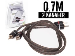 Stage1 Signalkabel 0.70 mtr, 2-kanals