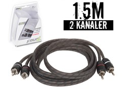 Stage1 Signalkabel 1.5 mtr, 2-kanals