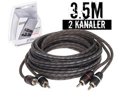 Stage1 Signalkabel 3.5 mtr, 2-kanals