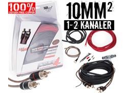 10mm² OFC kabelsæt m. 1 stk signalkabel