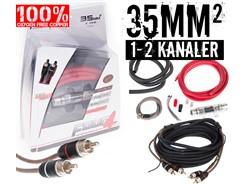 35mm² OFC kabelsæt m. 1 stk signalkabel