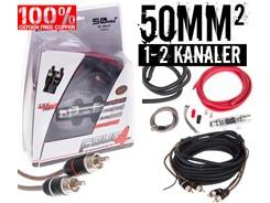 50mm² OFC kabelsæt m. 1 stk signalkabel