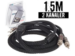 Stage3 Signalkabel 1.5 mtr, 2-kanals