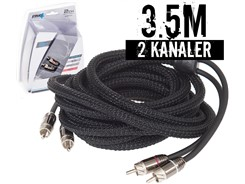 Stage3 Signalkabel 3.5 mtr, 2-kanals