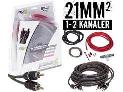 21mm² kabelsæt m. 1 stk signalkabel