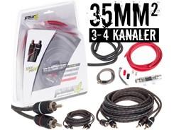 35mm² kabelsæt m. 2 stk signalkabler