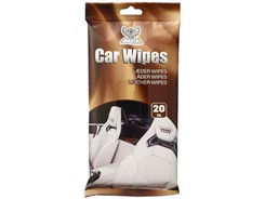 Basta Car Wipes Læder, 20 stk