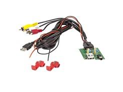 PCB Printmodul m. USB- og AUX-indgang til KIA / HYUNDAI (RCA)