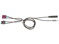 Antenneadapter Volvo m. modulator Fakra>DIN