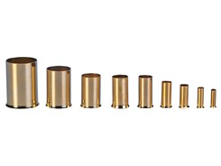 Terminalrør/Kabeltylle 1,5 mm², Forgyldt, 20 stk