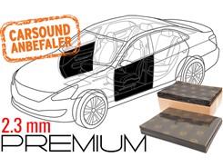 Støjdæmpepakke Premium  - 2 DØRE