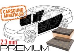 Støjdæmpepakke Premium  - 4 DØRE