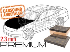 Støjdæmpepakke Premium - MOTORHJELM