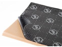 StP Black Silver Vibrations- og støjdæmpning, 1 ark